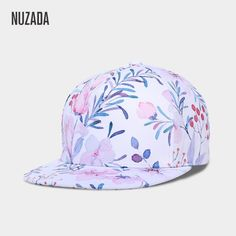 6de1aac9bbbba Women s 3D Printing Small Fresh Flowers Caps Hats