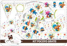 Pocoyo Free Printable Kit.