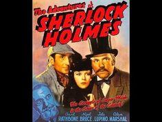 THE ADVENTURES OF SHERLOCK HOLMES (1939) ~ Basil Rathbone as Sherlock Holmes. Full Movie (1:21:41) [Video]