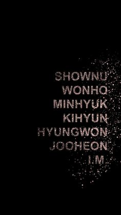 Monsta X wallpaper lockscreen shownu wonho minhyuk kihyun hyungwon jooheon i.m. kpop