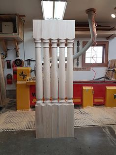 """The wood porch posts are only 81"""" tall. they are our New Orleans pattern."""