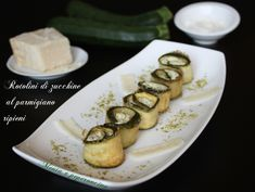 Rotolini di zucchine al parmigiano ripieni