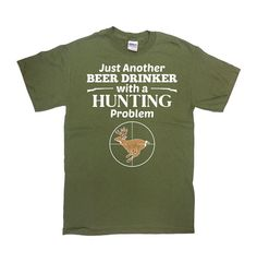 Funny Hunting T-Shirt - Great Gift for any Hunting Dad or Hunting Grandpa!  For more Gifts for Dad or Grandpa: https://www.etsy.com/ca/shop/CherryTees?ref=l2-shopheader-name§ion_id=17205329 ________________________________________________________  All t-shirts are printed on 100% High Quality (Preshrunk) Cotton Branded T-shirts Such As: Fruit Of The Loom Alstyle Gildan  All t-shirts are custom made to order and are printed using the latest ink to garment technology. This is not a cheap heat…