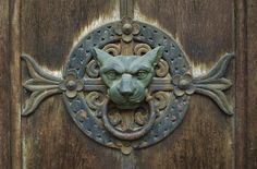 Door knocker | Lyon, Rhone-Alpes, France