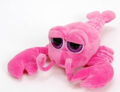 "7"" Bright Eyes Pink Lobster at theBIGzoo.com, a family-owned store. Check our sales & FREE Shipping."