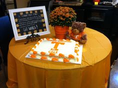 Cole's Tennessee Vols 21st birthday cake