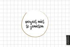 Zusss l Vergeet niet te genieten l http://www.zusss.nl/product/zusss-familie-planner/