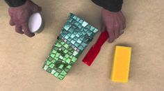 This video describes how easy it is to create a mosaic vase.