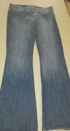 GUESS Daredevil Flare Jeans Blue Low Rise Womens Tag Size 31 #GUESS #BootCut http://stores.ebay.com/Castys-Collectibles?_dmd=2&_nkw=guess+jeans