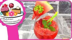 Wassermelonen-Erdbeer Slush - Rezept von Madeleines Schlemmerparadies Happy Friday, Vanille Paste, Fruit, Food, Youtube, Madeleine, Strawberry Slush, Summer Kids, Ice Cream Maker Machine