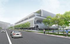 Taichung City Cultural Center competition : Honorable Mention MASS STUDIES (South Korea) with joint tenderer Q-LAB (Taiwan) and Wang Architects & Associates (Taiwan)