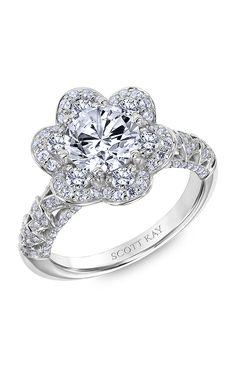 Shop Scott Kay 31-SK6022GRP-E Engagement rings | Bailey Banks & Biddle