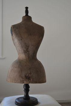 URalte schneiderpuppe mannequin shabby frankreich,TAFELBÜSTE WEPENTAILLE