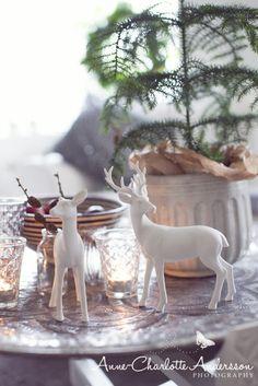Christmas Coffee Table Decor Vignette