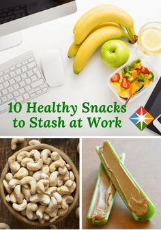 You can't control when hunger will strike but you can control what foods you eat. Try an idea or two out of our 10 best snacks to keep at work. You'll feel so much better when you know you're snacking right.