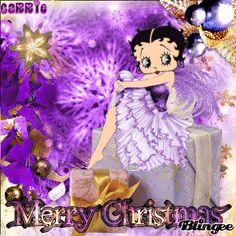 Merry Christmas Betty Boop!