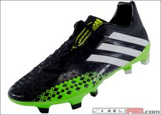 innovative design 4e067 11b69 adidas Predator LZ TRX FG Soccer Cleats - Black with Ray Green... 197.99