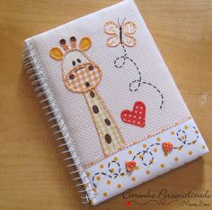 Excellent Applique Embroidery Designs And Patterns 22 Felt Crafts, Fabric Crafts, Paper Crafts, Notebook Covers, Journal Covers, Applique Embroidery Designs, Vintage Embroidery, Applique Patterns, Embroidery Thread