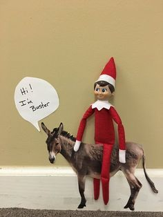 Today I spent some time with Jason our Land Development Manager. I learned that he has several animals at home including his donkey Buster! - Jake the Elf  #jaketheelf #elfontheshelf #holidays #officefun #iveyteam #iveyhomes Ivey Homes is an award-winning locally owned Augusta GA homebuilder. Homes from the Low $100's to Custom.