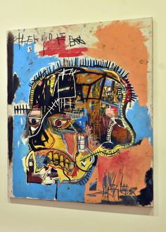 """This Jean Michel Basquiat Estate fine art lithograph Pop Art print """" Skull """" is a very special and unique piece to add to your collection. Jean Michel Basquiat, Pop Art, Modern Art, Contemporary Art, Art Gallery Of Ontario, Tropical Art, Pompeii, Framed Artwork, Frames"""