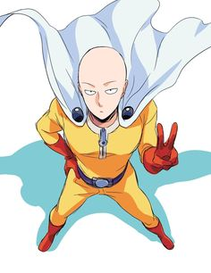 One Punch Man - Young man named Saitama a normal looking guy who is bald yet doesn't have your typical normal physicals. Absolutely love reading the manga (wish updates faster...) and enjoying the anime every moment!