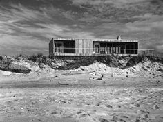 Lambert House on Fire Island, 1962, Richard Meier (while working for Marcel  Breuer and Associates)