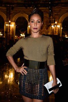 Jada Pinkett Smith Turns Heads With Her Paris Fashion Week Appearances