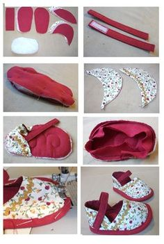 New And the beauty of this life is dreams .- Neuen Und die Schönheit dieses Lebens besteht darin, Träume nähen, Geschichte… New And the beauty of this life is sewing dreams, embroidering stories and … this - Doll Shoe Patterns, Baby Shoes Pattern, Baby Sewing Projects, Sewing For Kids, American Girl Doll Shoes, American Girls, Shoe Template, Diy Bebe, Sewing Dolls