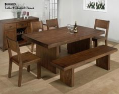 Simple Clean Lined Dinette