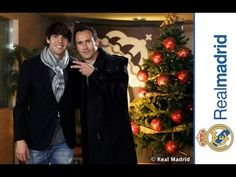 Video Kaká and Carvalho wish you a Merry Christmas and Happy New Year