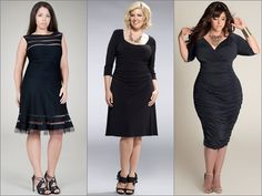 Little Black Dress for Plus Size Women. Besides being colorful, you can also be classic and elegant with this timeless fashion staple. Not o...