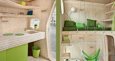 Tengbom Micro Units Pack Dorm Life into 107-Square-Feet of Liv...