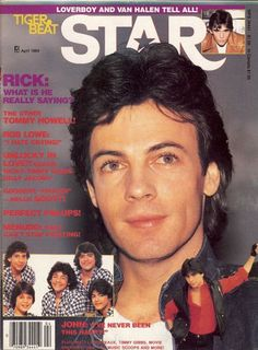 rick springfield- what a crush I had! lol