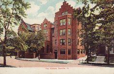Danville, IL - The Holland Apartments - Postcard - 19??