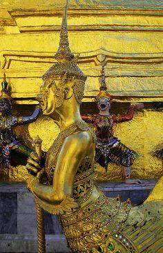Wat Phra Kaew, Temple of the Emerald Buddha - Bangkok