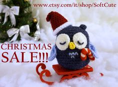 "GOOD NEWS!!! We have a ""CHRISTMAS SALE"" section in the shop! Few pieces available but all ready to ship, get them before they're gone!  https://www.etsy.com/it/shop/SoftCute?section_id=16470912&ref=shopsection_leftnav_4"