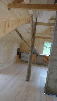 adaptation of the barn at the summer cottage