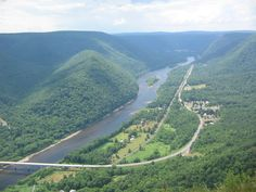 View atop the Hyner Challenge trail run_Best motorcycle ride I ever took ended up here with my friend & neighbor Tom Regis.