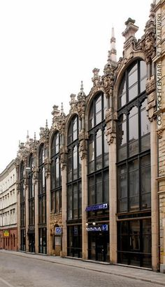 SECESJA: Wrocław, Rzeźnicza Street 32-33. Former Wholesale House of company Schleisinger & Grünbaum (1901, arch. Leo Schlesinger).