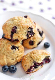 Pink Sugar: Blueberry Scones - like a sunday morning...