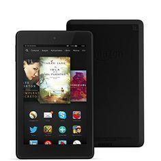 """Fire HD 6, pantalla HD de 6"""" (15,2 cm), Wi-Fi, 8 GB (Negro) - incluye ofertas especiales Amazon"""