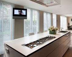 Kitchen with JASNO blinds