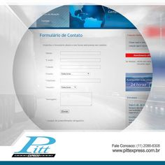 Para entrar em contato conosco é fácil!  Basta acessar o link a seguir e deixar a sua mensagem. Teremos o maior prazer em respondê-lo! http://www.pittexpress.com.br/formulario-pitt-express.php#formulario