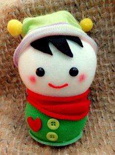 DIY sock doll *Little Boy*
