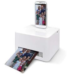 The Photo Printer for Smartphones and Tablets