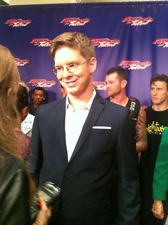 The charming Mr. Jacob Williams is all smiles and laughs on the red carpet. America's Got Talent / Smiles And Laughs, All Smiles, Chicago Fire, America's Got Talent, Season 7, Picture Photo, Comedians, Red Carpet, Photo Galleries