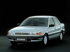 Mitsubishi Lancer Sedan (1988 – 1991).  One of our Dominican cars