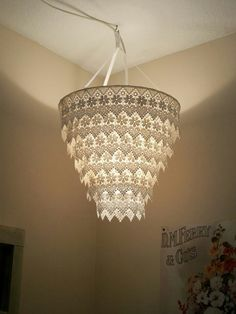 20 interesting do it yourself chandelier and lampshade ideas for light aloadofball Image collections