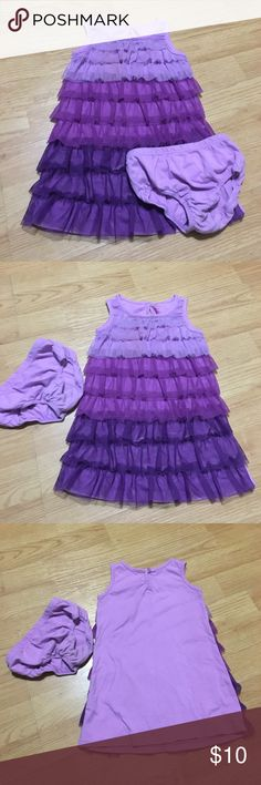 Ombré tulle toddler dress Gorgeous dress! Used for photo shoots, comes with bloomers. Children's Place Children's Place Dresses Casual