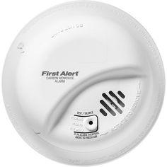 BRK First Alert - CO5120BN Hardwire Carbon Monoxide Alarm with Battery Backup